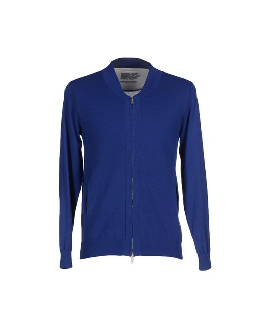 Obvious Basic - Blue Cardigans for Men - Lyst