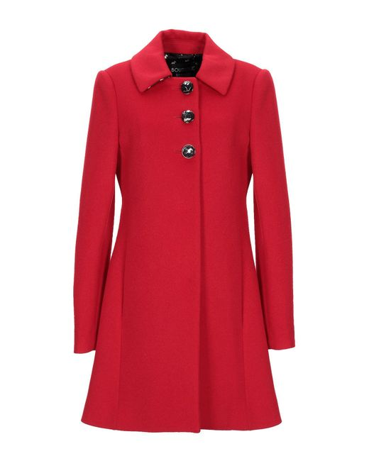 Boutique Moschino Red Coat