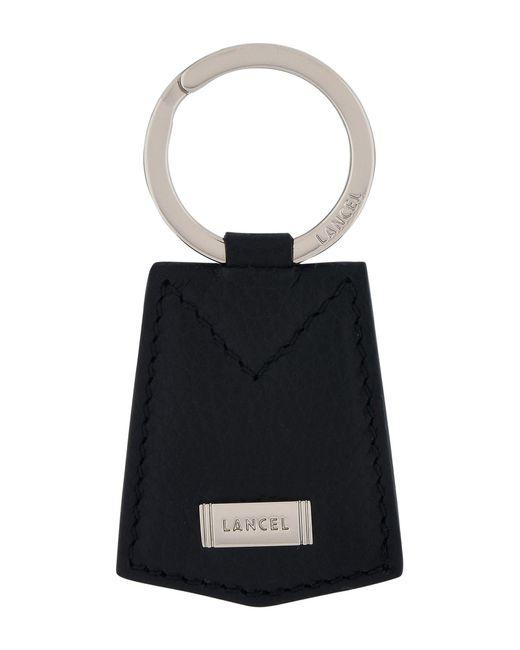 Lancel - Black Key Ring for Men - Lyst