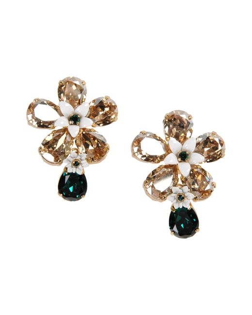 Dolce & Gabbana - Metallic Earrings - Lyst