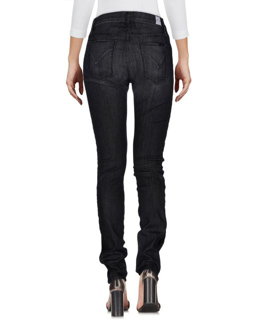 Denim - Pantalon En Denim Fil Rouge Z4RHm2SN