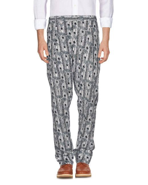 Lemaire - White Casual Pants for Men - Lyst