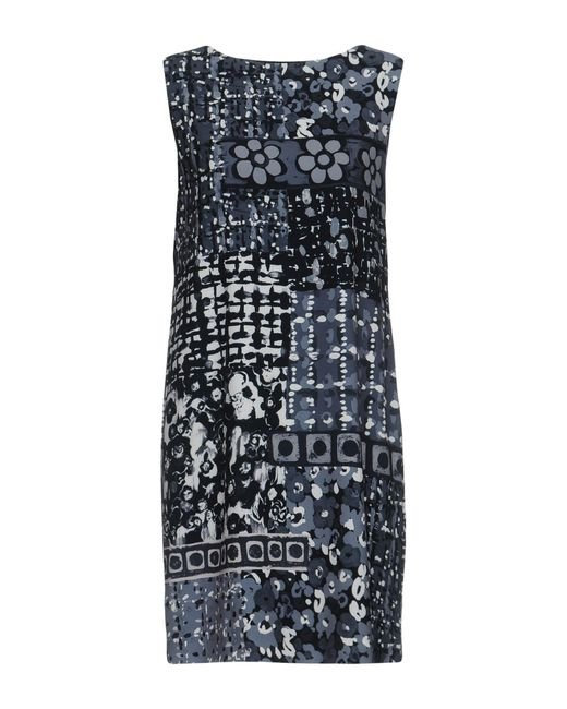 Boutique Moschino - Gray Short Dress - Lyst