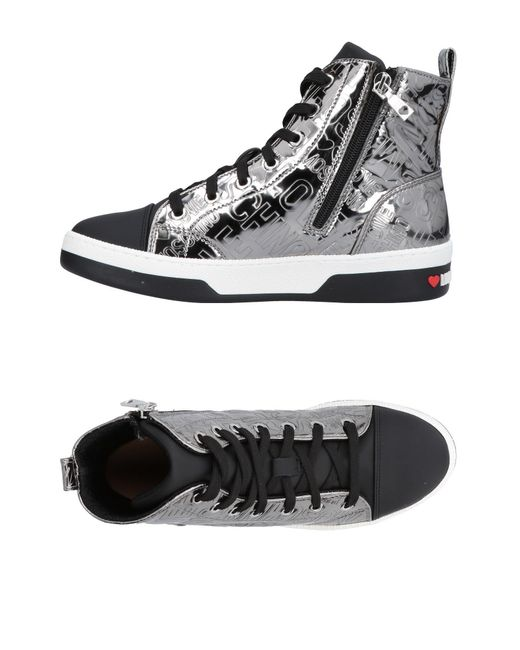 Love Moschino - Black High-tops & Sneakers for Men - Lyst