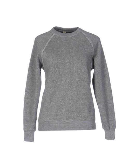 Alternative Apparel - Gray Sweatshirt - Lyst