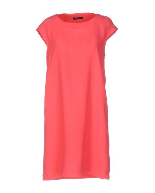 Roberto Collina - Pink Short Dress - Lyst