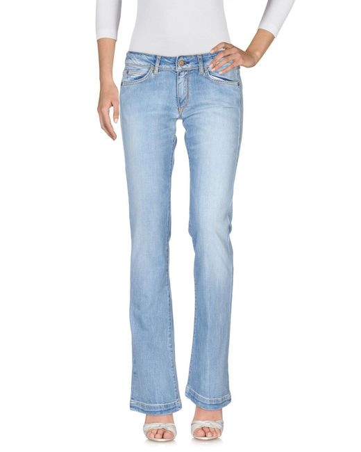 Mauro Grifoni - Blue Denim Trousers - Lyst