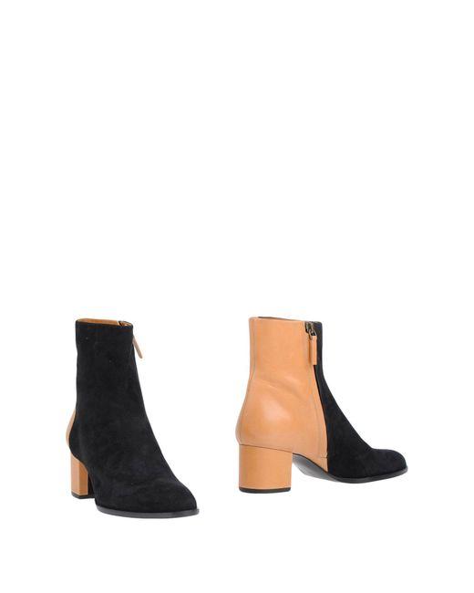 Veronique Branquinho   Black Ankle Boots   Lyst