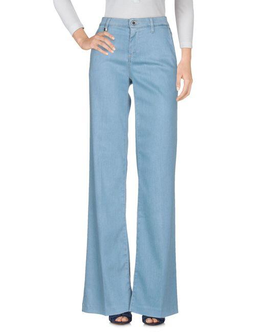 Miss Sixty - Blue Denim Trousers - Lyst