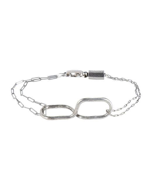 Lanvin - Metallic Bracelet - Lyst