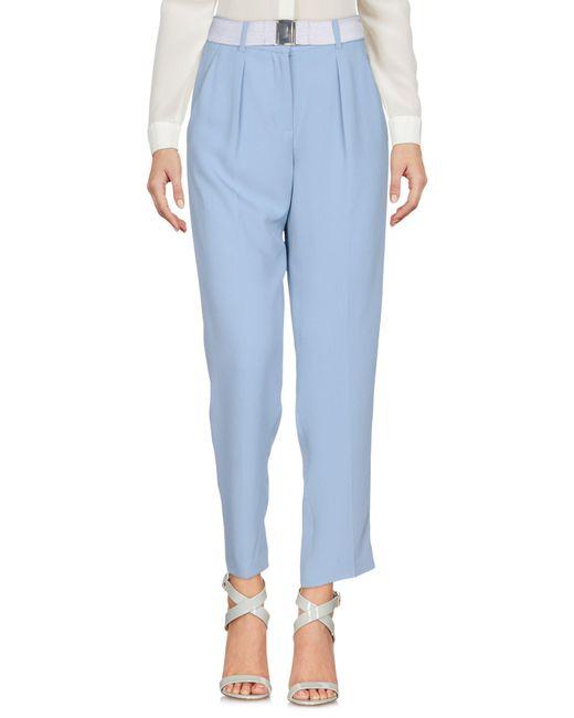Tara Jarmon - Blue Casual Pants - Lyst