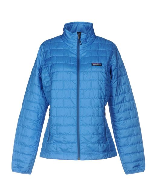 Patagonia - Blue Jacket - Lyst