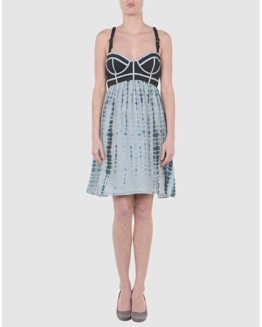 Valentine Gauthier - Black Short Dress - Lyst