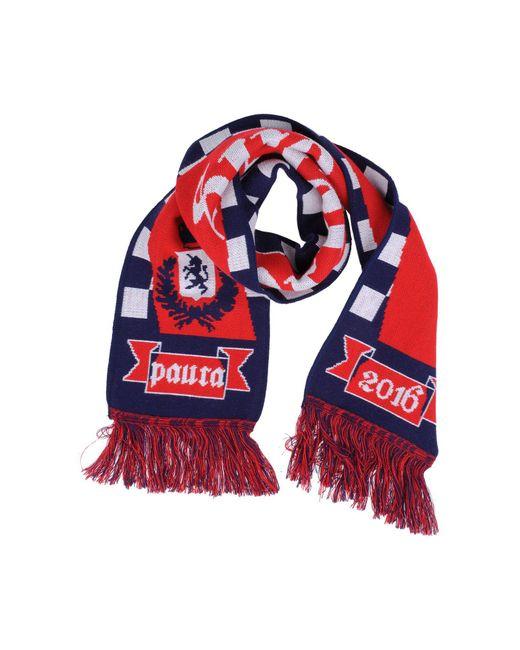 Paura - Red Oblong Scarves for Men - Lyst