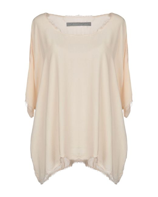 Raquel Allegra - Natural Blouse - Lyst