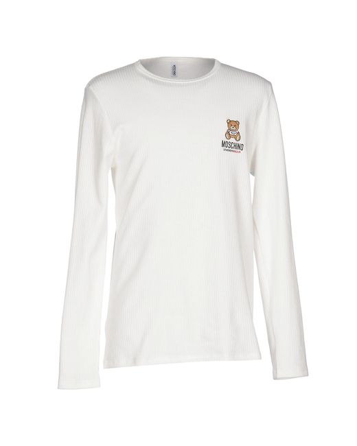Moschino | White Intimate Knitwear for Men | Lyst