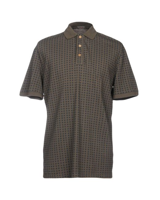 Altea - Gray Polo Shirt for Men - Lyst