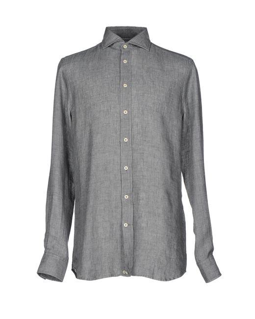 Baldessarini | Gray Shirts for Men | Lyst