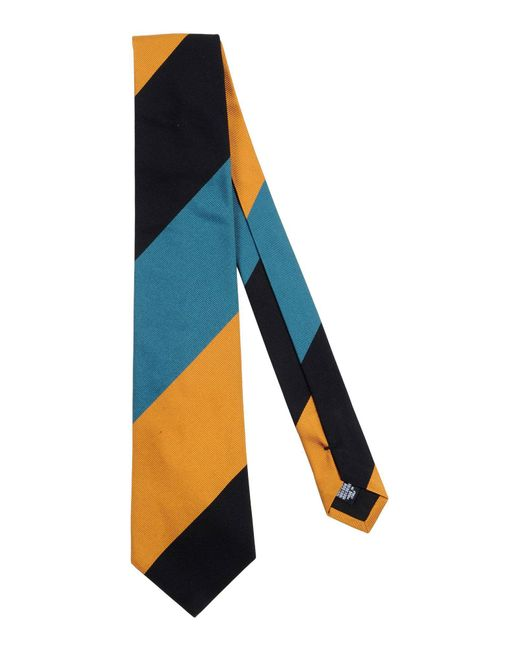 Mp Massimo Piombo - Blue Ties for Men - Lyst