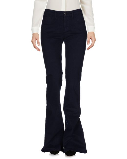 J Brand - Blue Casual Pants - Lyst
