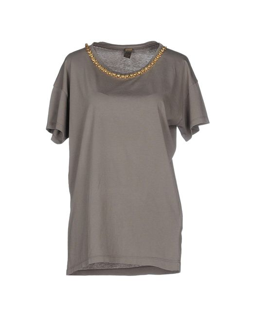 Jijil - Gray T-shirt - Lyst