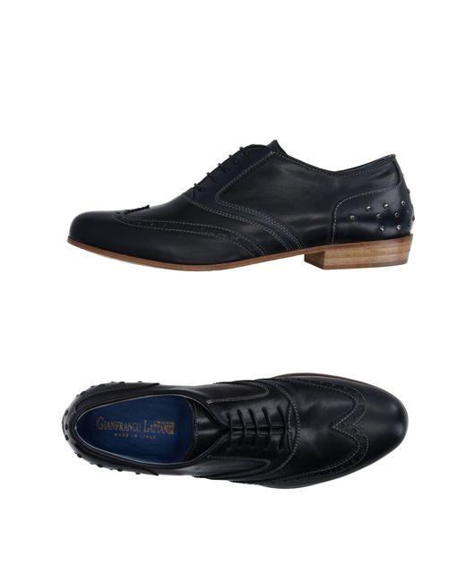 Gianfranco Lattanzi - Blue Lace-up Shoe for Men - Lyst