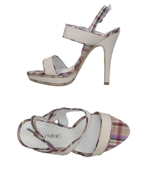 CafeNoir - Natural Sandals - Lyst
