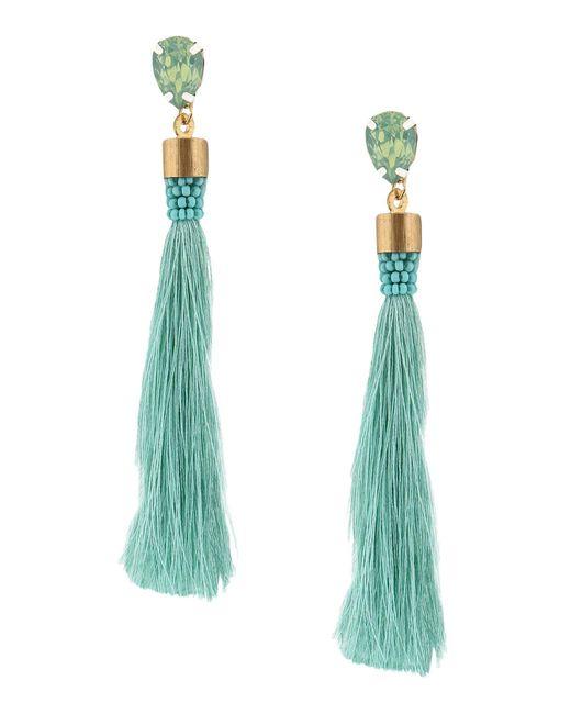 IDEAS 108 - Green Earrings - Lyst