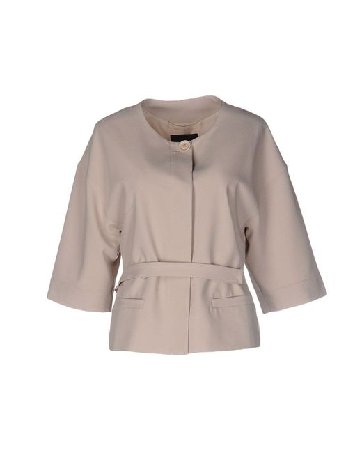 Who*s Who - Natural Blazer - Lyst