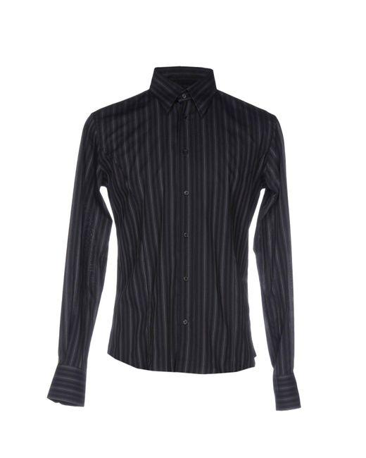 Massimo Rebecchi - Blue Shirt for Men - Lyst