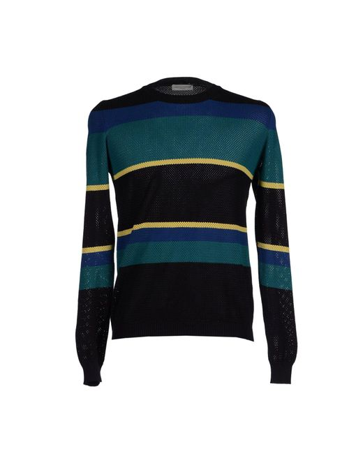 Roberto Collina - Black Jumper for Men - Lyst