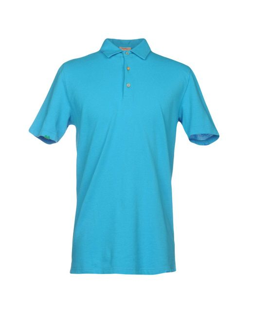 Altea - Blue Polo Shirt for Men - Lyst