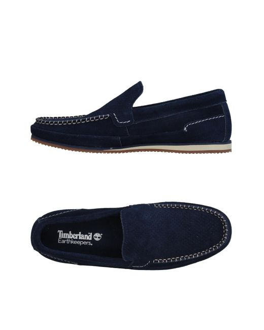 Timberland - Blue Loafers for Men - Lyst
