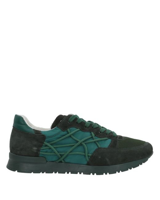 online store fa22d e4a68 L4k3 - Green Sneakers   Tennis basses for Men ...