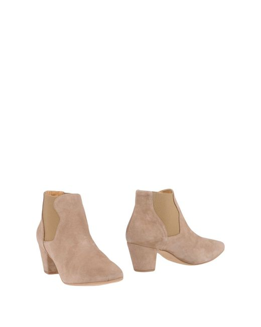 Shoe The Bear - Natural Ankle Boots - Lyst