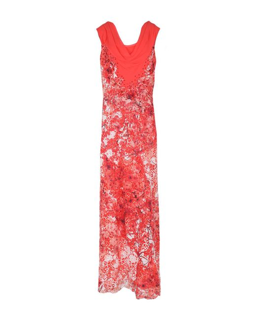 Clips - Multicolor Long Dress - Lyst