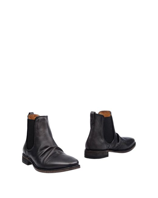 John Varvatos | Gray Ankle Boots for Men | Lyst