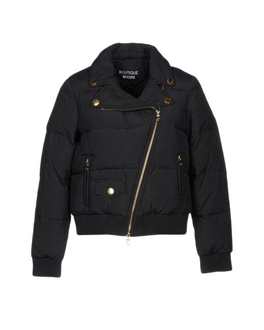 Boutique Moschino - Black Down Jacket - Lyst