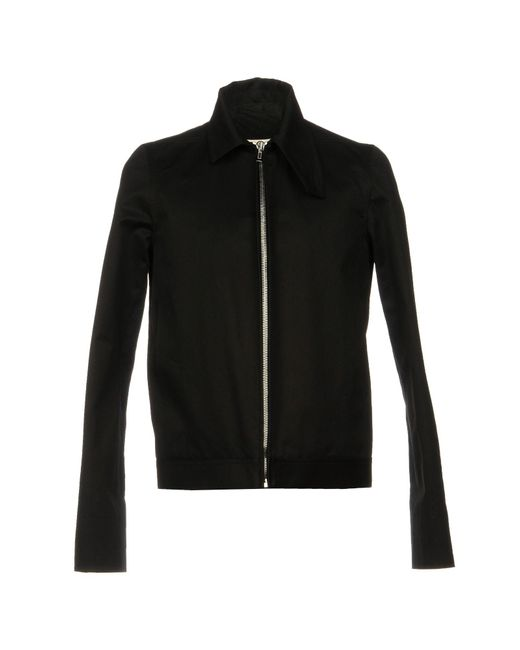 Rick Owens - Black Jacket for Men - Lyst