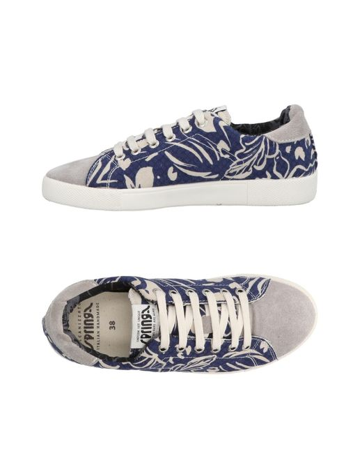 Springa - Gray Low-tops & Sneakers - Lyst