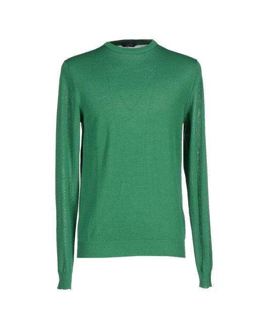 Zanone - Green Sweater for Men - Lyst