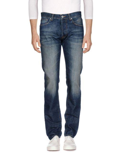 AMSTERDENIM - Blue Denim Pants for Men - Lyst