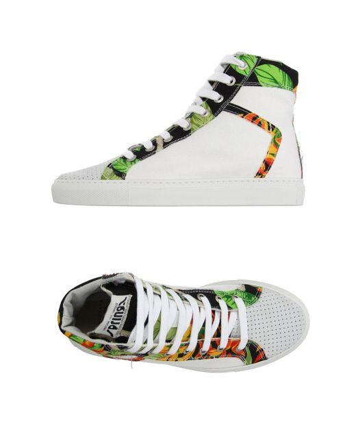 Springa | Gray High-tops & Sneakers | Lyst