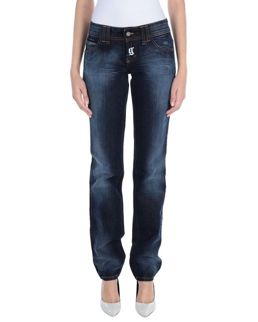 John Galliano Blue Denim Pants