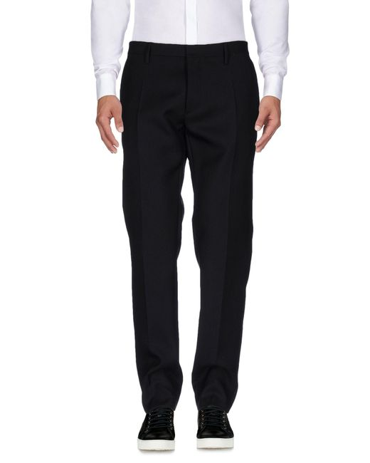 DSquared² - Black 15cm Skinny Stretch Wool Cady Pants for Men - Lyst