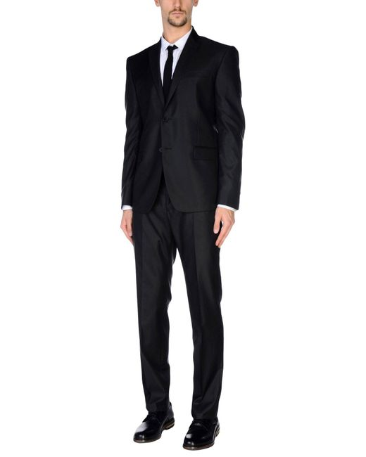 Versace Suits In Black For Men