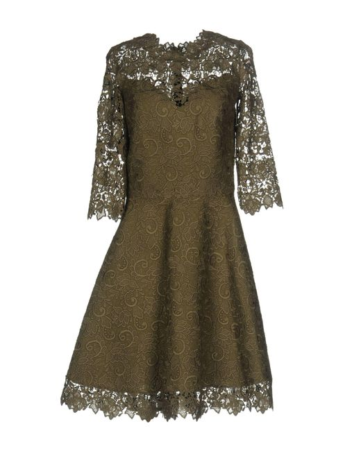 Ermanno Scervino - Green Knee-length Dress - Lyst