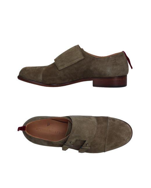 Attimonelli's - Green Loafer for Men - Lyst