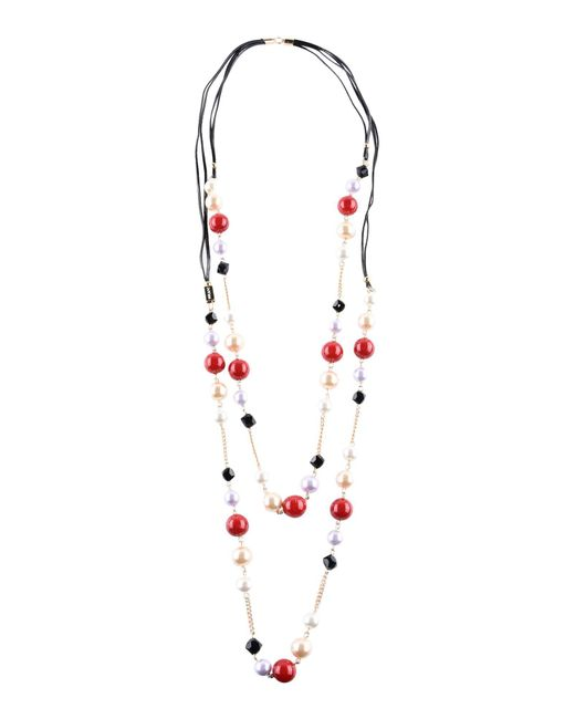 Pf Paola Frani - Red Necklace - Lyst