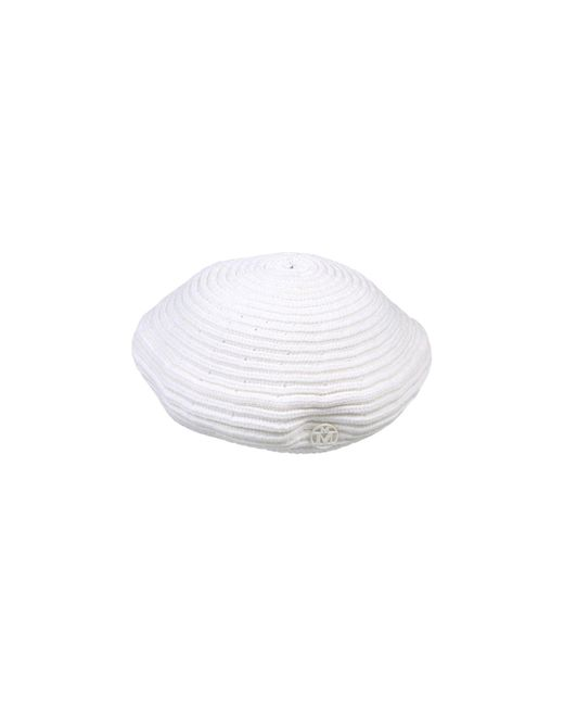 Maison Michel - White Hat - Lyst
